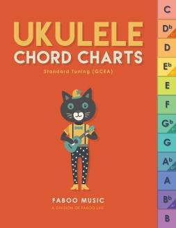 UKULELE CHORD CHARTS